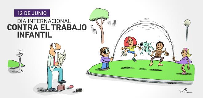 Día Internacional contra el Trabajo Infantil