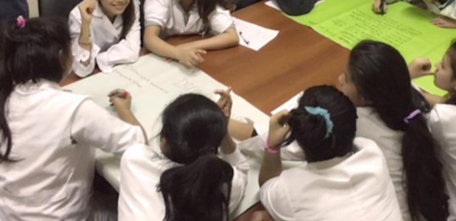 Participación de chicas y chicos en la OAD La Boca-Barracas