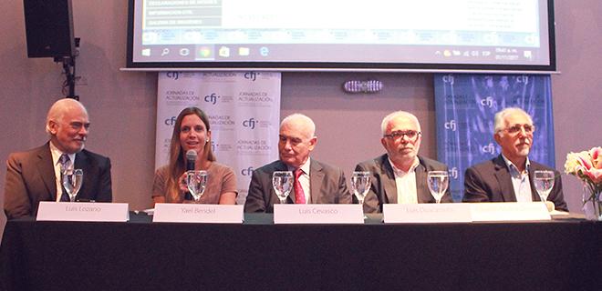 La Dra. Yael Bendel participó del panel de apertura de la IX Jornada de Actualización para el fuero CAyT
