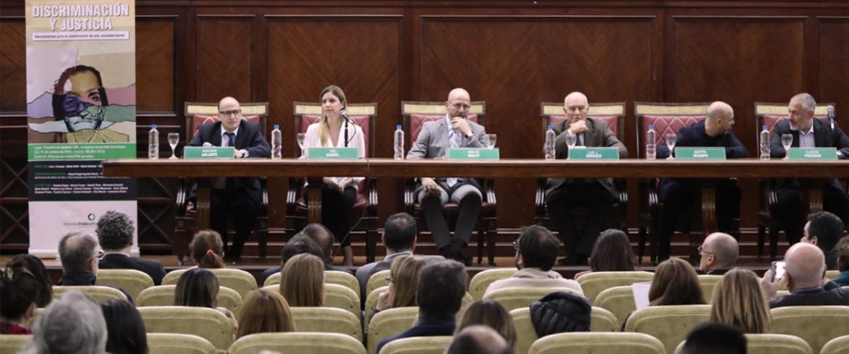 Se realizó una Jornada sobre Discriminación y Justicia en la Facultad de Derecho de la UBA