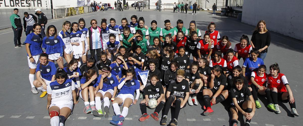 El MPT conmemoró el Día de las Futbolistas con un campeonato para niñas y adolescentes