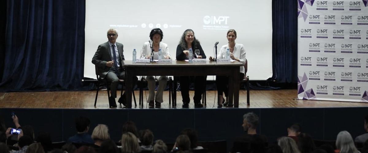 La Dra. Yael Bendel presentó un trabajo de investigación sobre violencia contra los NNyA