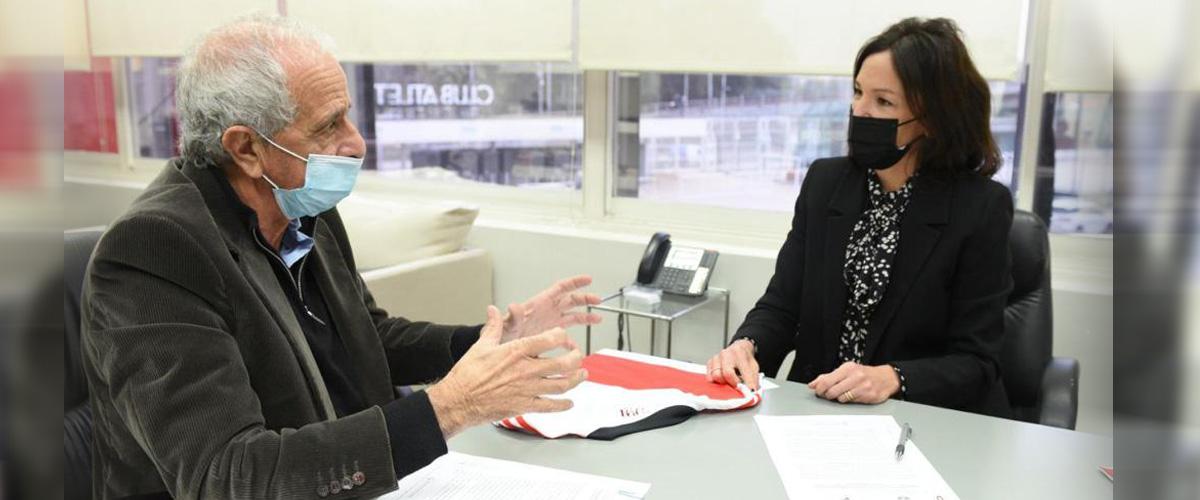 Se firmó un convenio con el Club River Plate