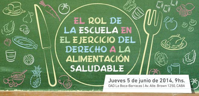 Garantizar el derecho a una alimentación saludable en la escuela