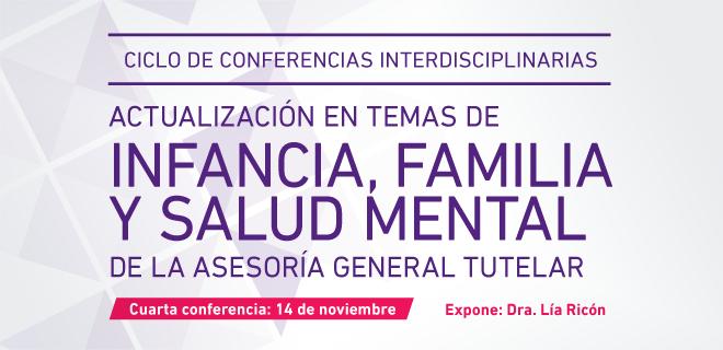 Cuarto encuentro del Ciclo de Conferencias del MPT