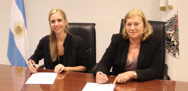 El Ministerio Público Tutelar firmó un convenio con CASACIDN