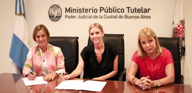 El MPT firmó un convenio con la Asociación Conciencia