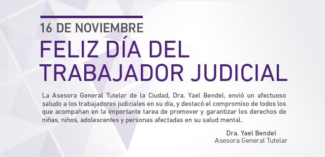 16 de noviembre ¨Día del Trabajador Judicial Argentino¨