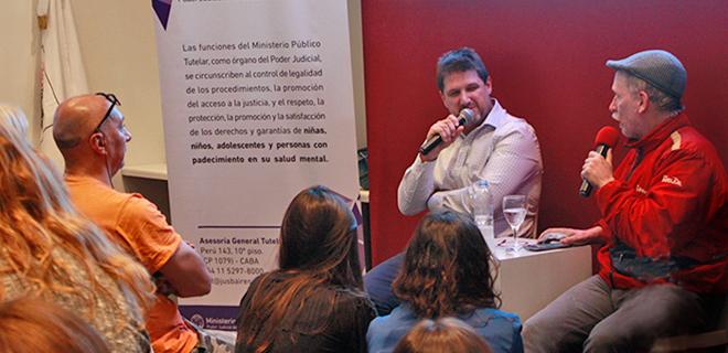 El MPT y Radio La Colifata en la Feria del Libro