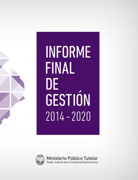 Informe Final de Gestión 2014 - 2020
