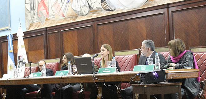 Yael Bendel disertó en las VI Jornadas Internacionales de Violencia de Género y Delitos Conexos