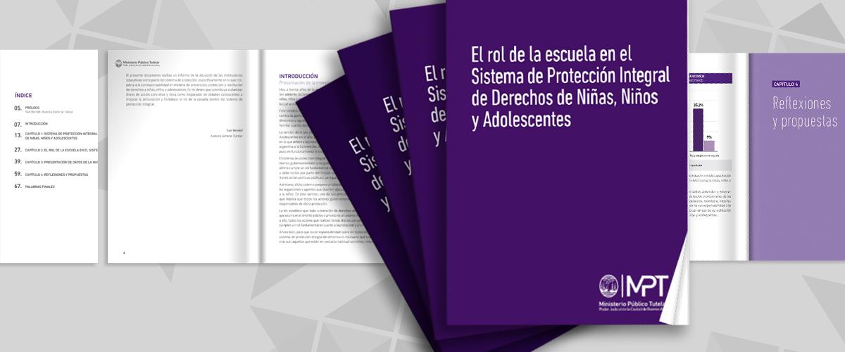 El rol de la escuela en el Sistema de Protección Integral de Derechos de Niñas, Niños y Adolescentes.