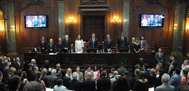 Apertura de las sesiones ordinarias en la Legislatura porteña