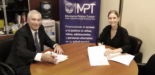 El MPT firmó un convenio con la provincia de Entre Ríos