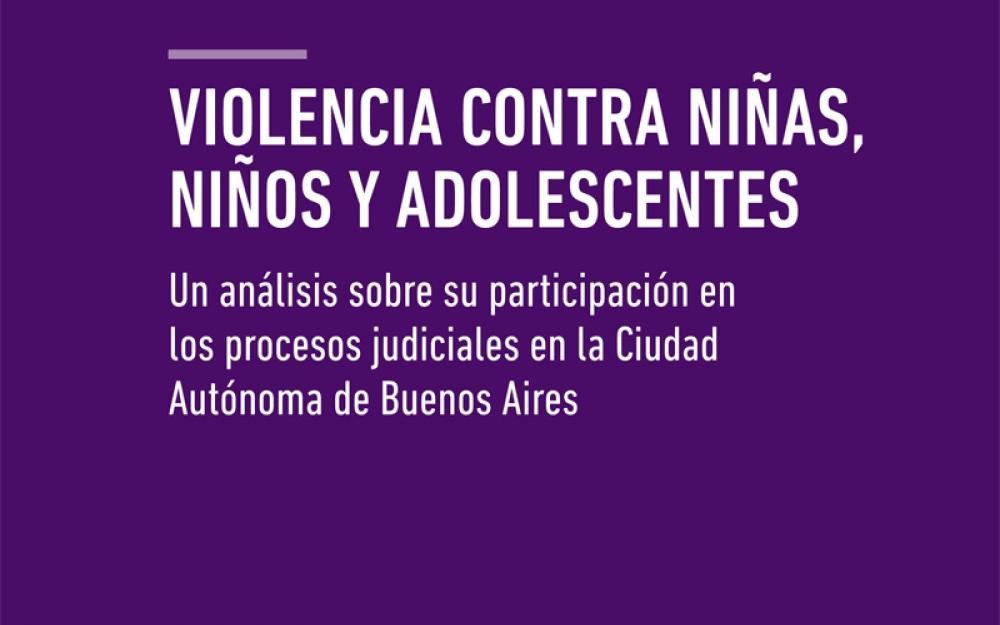 Violencia contra Niñas, Niños y Adolescentes