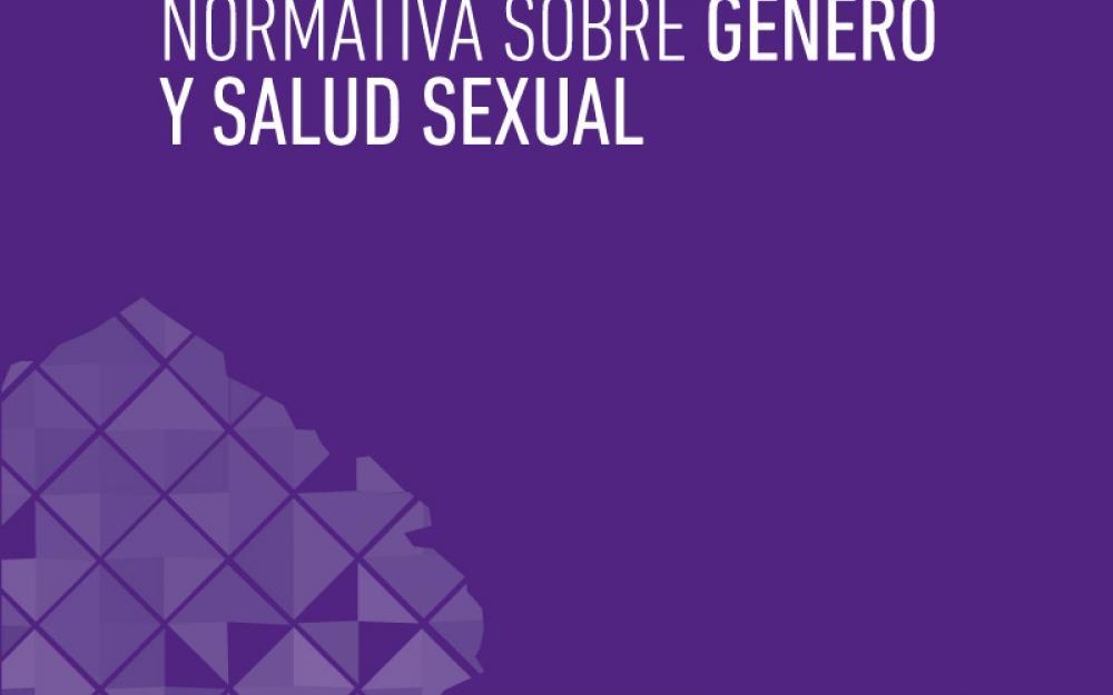 Normativa sobre género y salud sexual